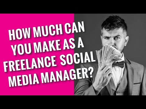 How Much Can You Make as a Freelance Social Media Manager in 2021?