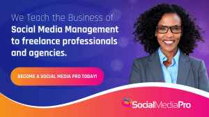 we teach the business of social media management