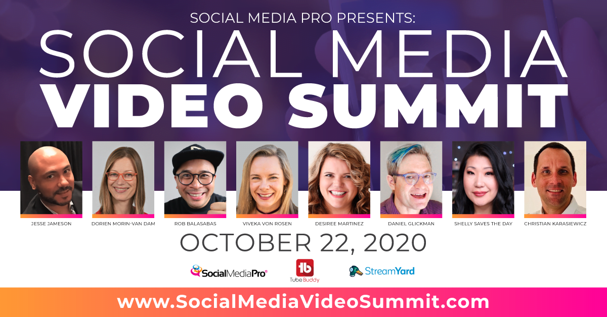 Why You Should Attend The FREE Virtual Social Media Video Summit