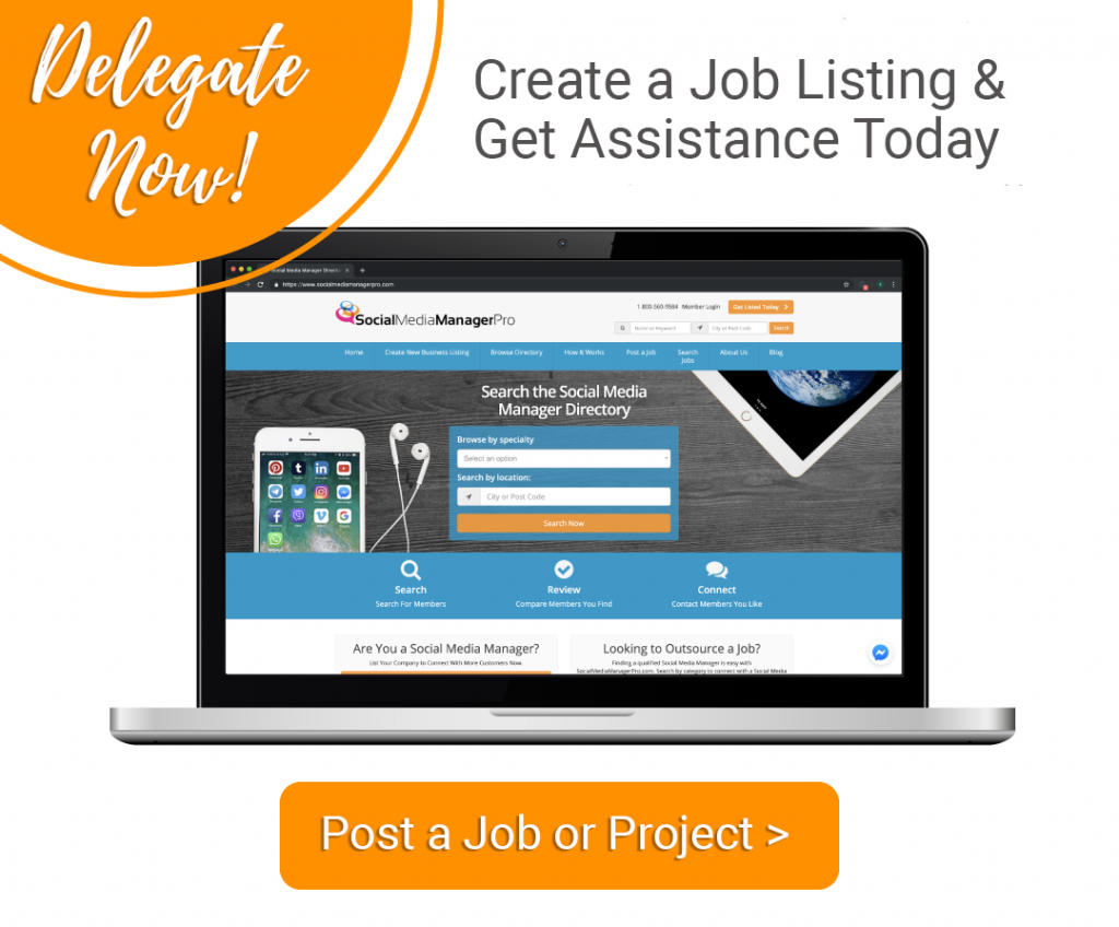 delegate projects to a virtual assistant now