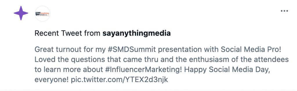 Social Media Day Summit